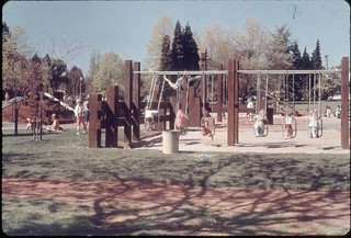 East Greenlake play area, 1969