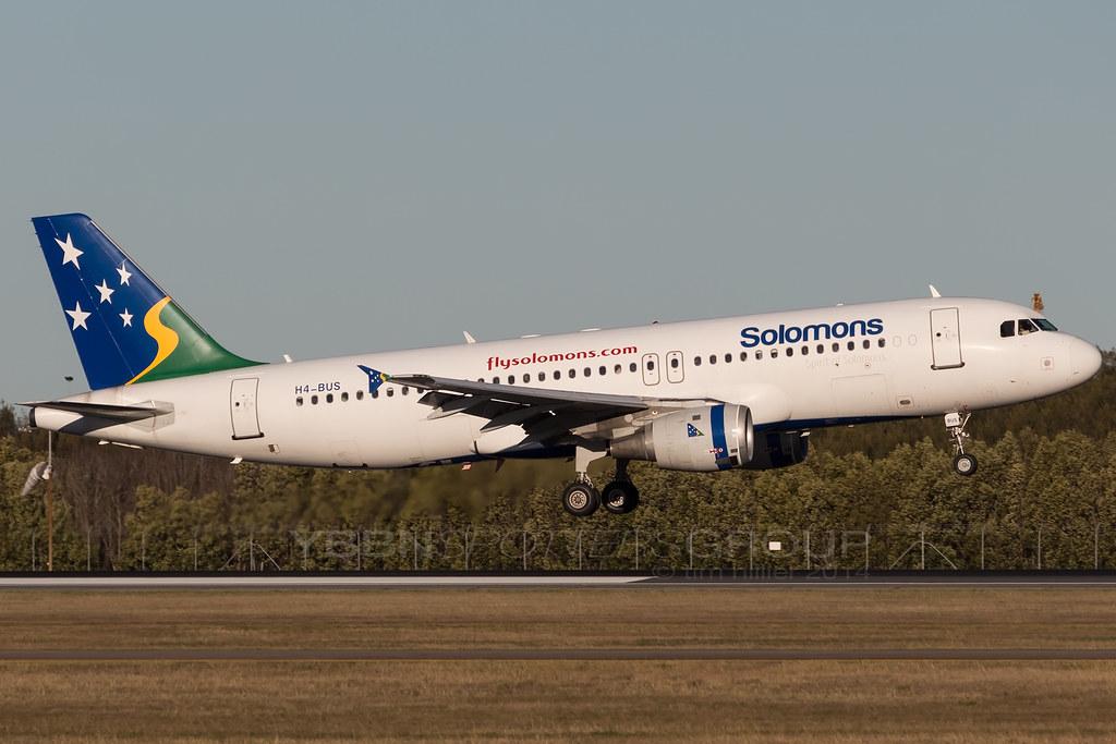 Solomon's Airbus A320 H4-BUS