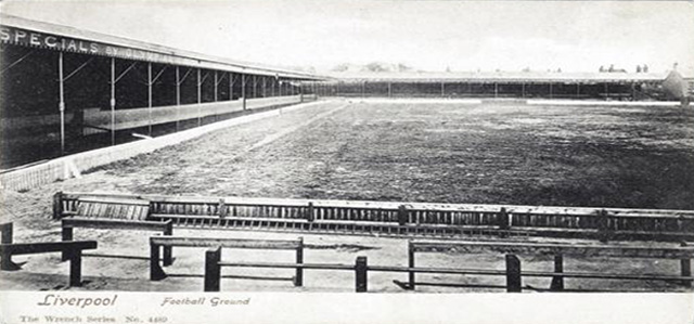 picture of Anfield circa 1903