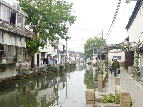 Jiangsu-Suzhou-Colline vers Centre-ville (60)