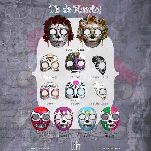 The Loft - Dia de Muertos
