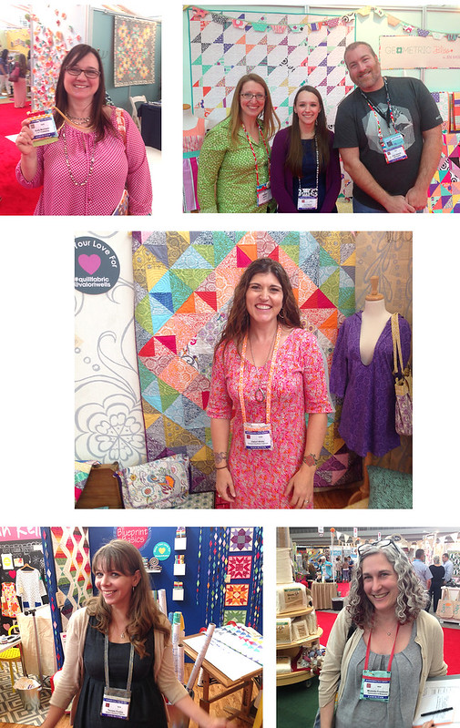 ID / Badge Holders in the wild (Quilt Market, Pittsburgh 2014)