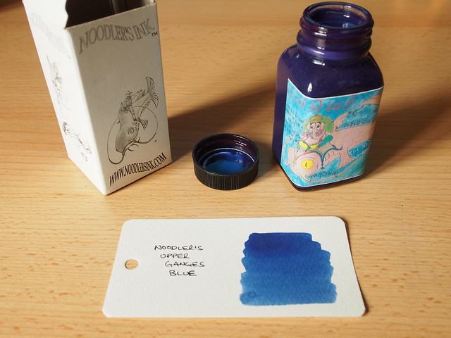 Noodler's Upper Ganges Blue - Ink Review