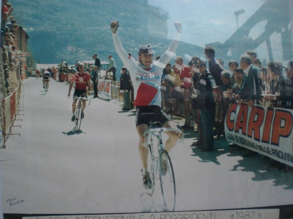 Vittoria di Danilo nel Trofeo Poggiridenti 1987
