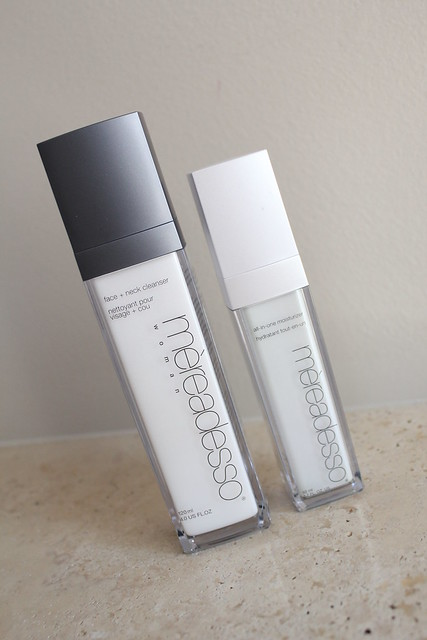 Mereadesso face neck cleanser and moisturizer review