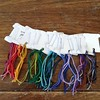 Color cards for eponymous. 20 or so more to go in this yarn. #threefatesyarns #orderedchaos