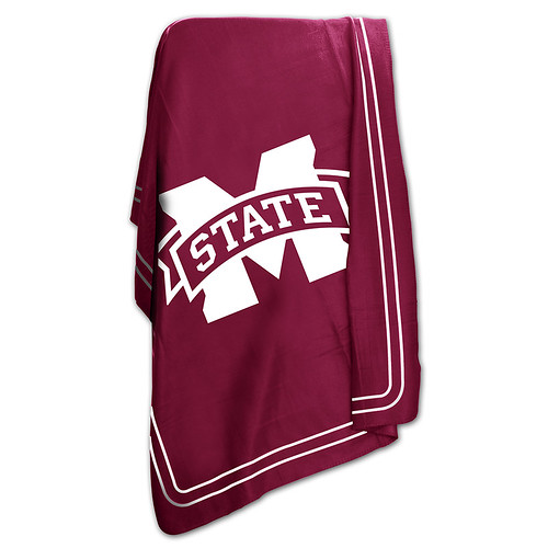 Mississippi State Bulldogs NCAA Classic Fleece Throw