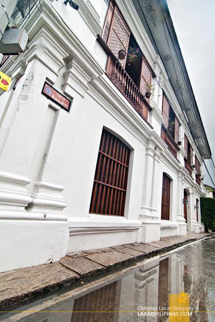 Casa Caridad in Vigan City