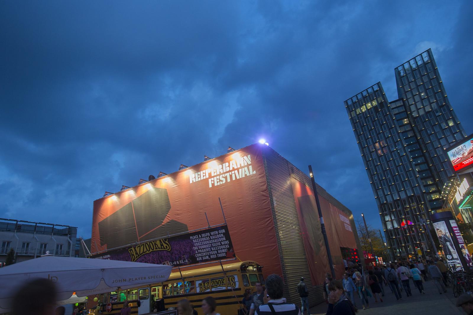 Reeperbahn Festival   Spielbudenplatz Hamburg St. Pauli