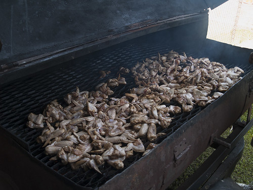 chicken wings smoke alabama grill barbecue armory gaurd nationa eutaw