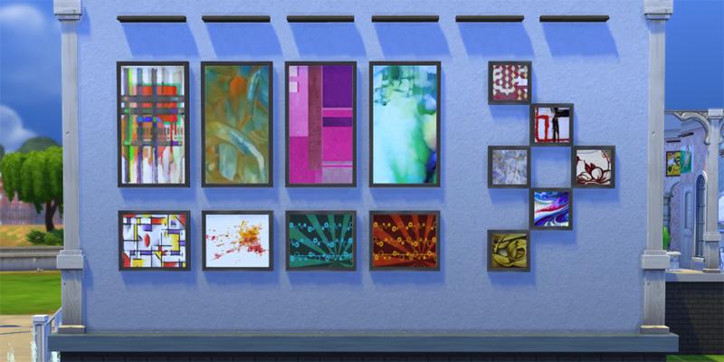 Sims 4 space prints