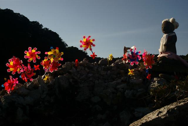 恐山 Osorezan, Aomori Japan, 21 Sep 2014. 055