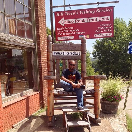 2014-08-23; Big Ole Rocking Chair, Calico Rock AR #rockingchair #rocking #chair #calico #calicorock #calicorockar #arkansas