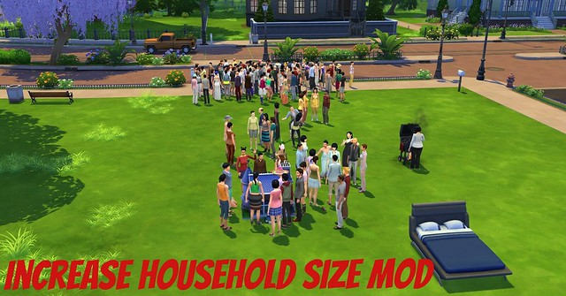 The Sims 4 Mod: More Than 8 Sims in Your Household | SimsVIP