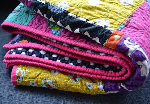 Echino quilt
