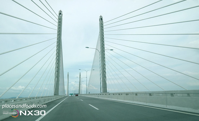 penang 2nd bridge towers