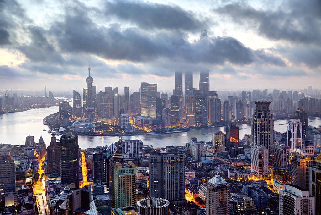 Elevation map of Shanghai, Shanghai, China - Topographic ...