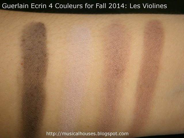 Guerlain Ecrin 4 Couleurs for Fall 2014 Les Violines