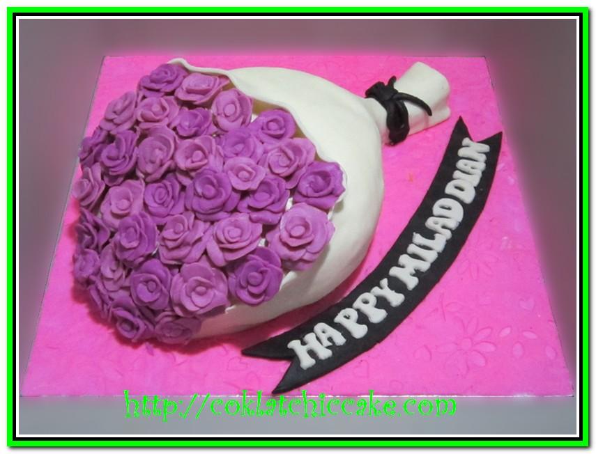 Cake Buket Bunga