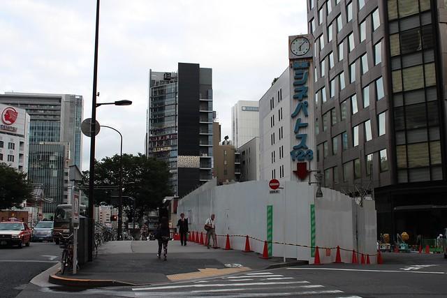 土浦亀城作の三原橋センター解体中 (21)