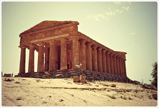 Image of Valley of the Temples. italy ruins italia valley temples sicilia agrigento