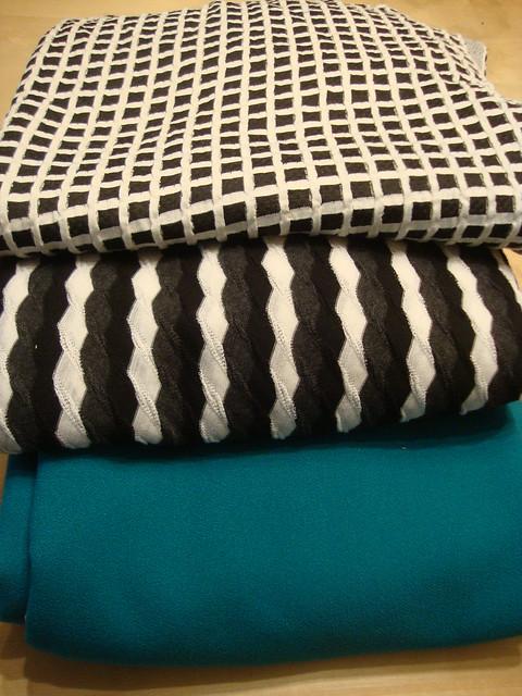 3 fabrics from Paron