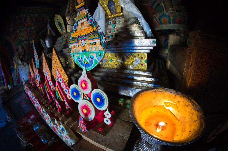 Торма - освященные подношения. Монастыри Ладакха (Монастыри малого Тибета) © Kartzon Dream - авторские путешествия, авторские туры в Ладакх, тревел фото, тревел видео, фототуры