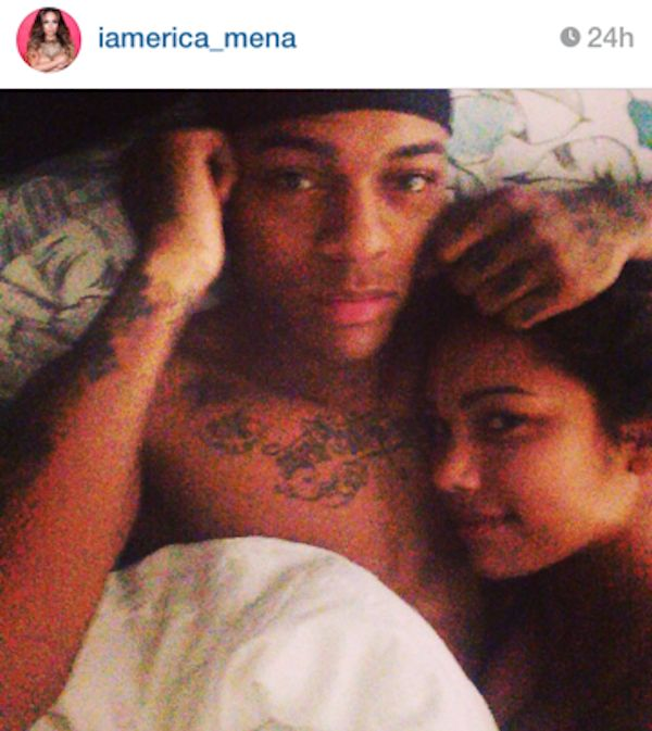 Bow-Wow-and-Erica-Mena-in-bed