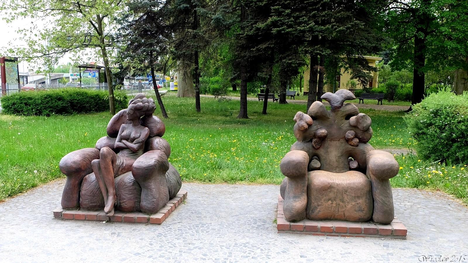 Park Juliusza Słowackiego, Wroclaw, Poland