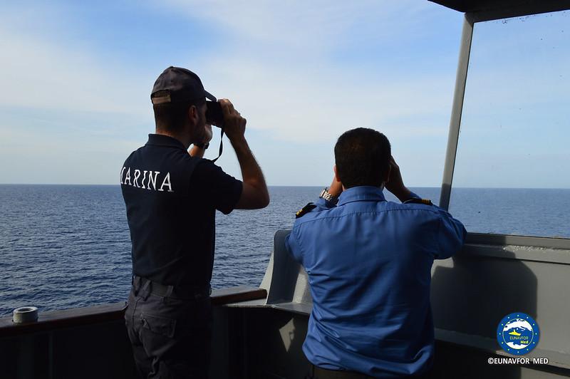 Training vessel ITS San Giorgio heads back home! Oct 2016 EUNAVFOR MED Operation SOPHIA