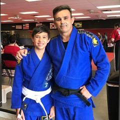 Nothing is so good like teach kids bjj  principal when your students is your grandson, yes this is priceless ! Reid you did one of my dreams come true . I had my son , my daughter and now my grandson in my class , thanks God for always listen my prays !!!
