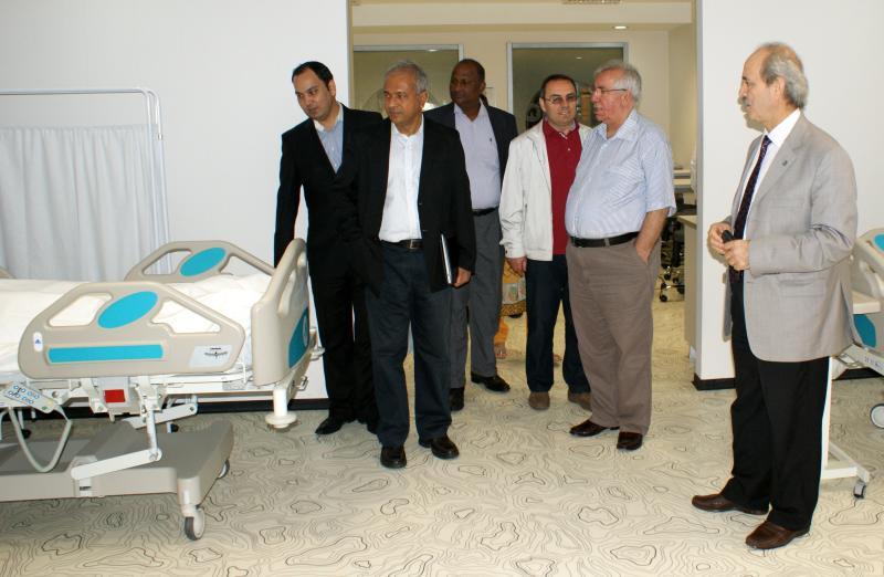 Sri Lanka'dan 2 Rektör Üsküdar Üniversitesi'nde gezi ve incelemelerde bulundu