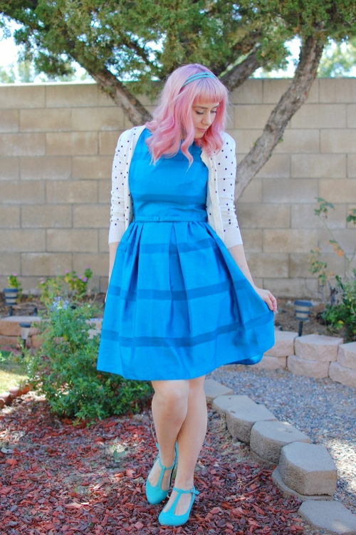 modcloth dinner party darling dress 4