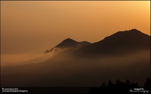clouds sunrise ooty