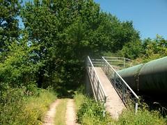20 Pasos sobre el tubo del agua (PK34,3)
