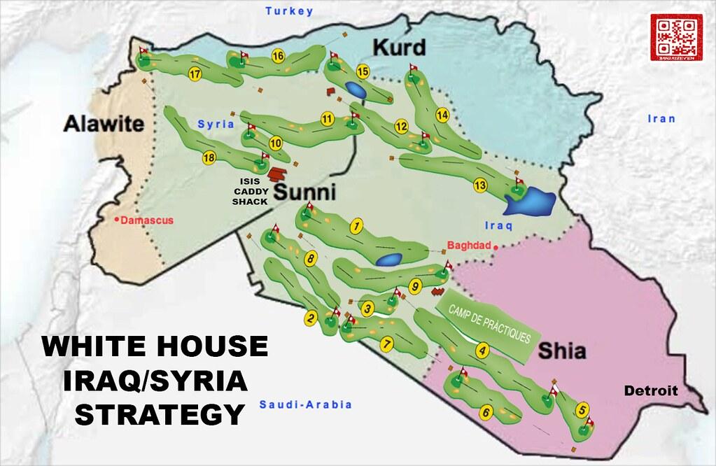 WHITE HOUSE IRAQ SYRIA STRATEGY
