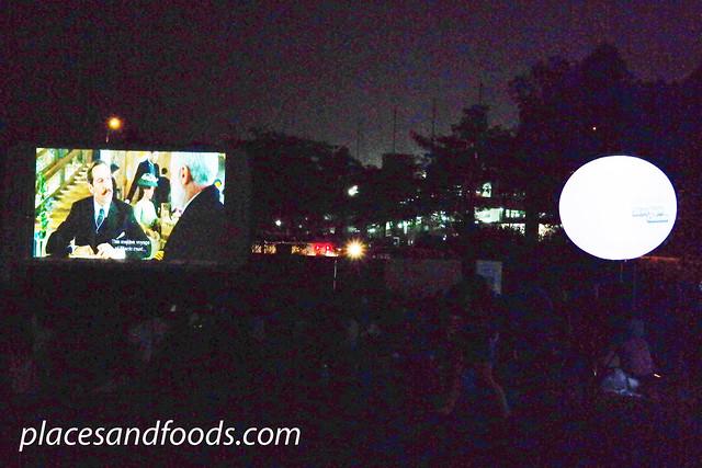 starlight cinema at night