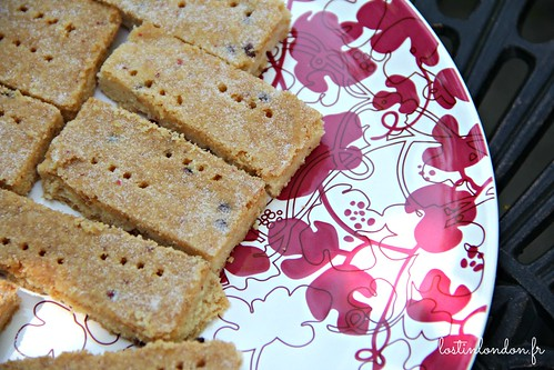 pink peppercorn shortbread