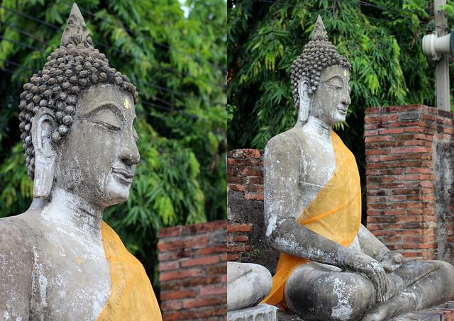 Будда, Аюттайя, Таиланд