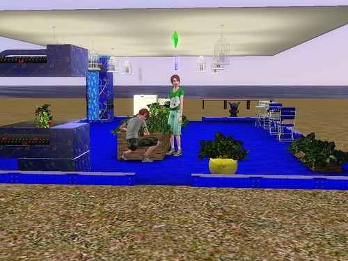 sims 3 how to get omni plant