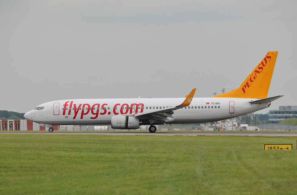 TC-IZG - B738 - Pegasus Airlines