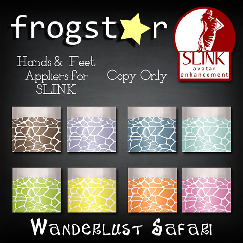Frogstar - Wanderlust Safari Nails Poster