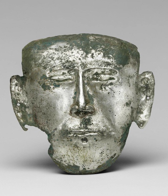 Liao Dynasty Funerary Mask
