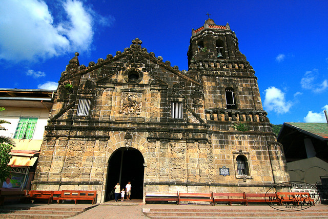 Paete Church facade