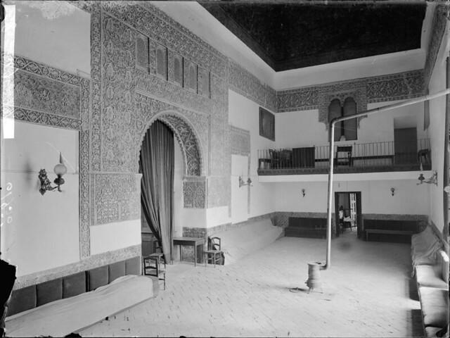 Casa de Mesa a comienzos del siglo XX. Fotografía de J. Lacoste © MECD, Fototeca del IPCE, signatura VN-29736_P