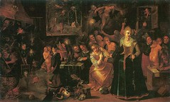 Frans II Francken – A Witches Kitchen