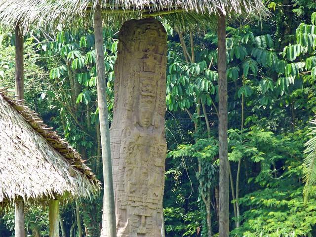 Estela de Quiriguá (Guatemala)