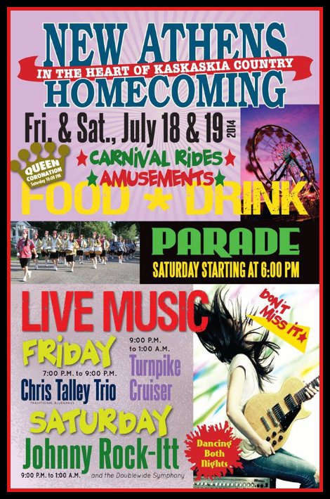 New Athens Homecoming 7-18, 7-19-14