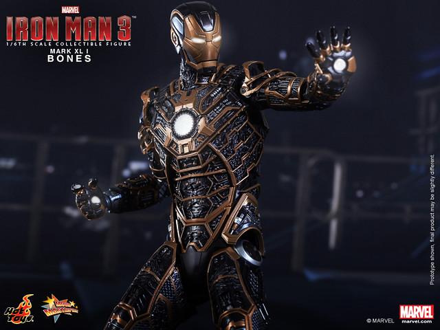 Hot Toys - Iron Man 3 - Bones (Mark XLI) Collectible Figure_PR9