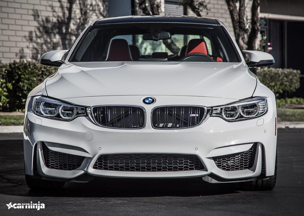 Bmw 2015 M3 White